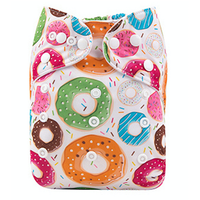 Pocketblöja med inlägg - Donut