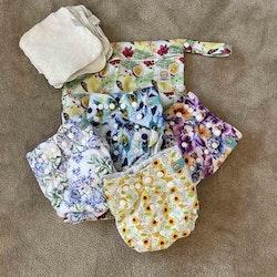 Lilla sommarpaketet med AIO blöjor