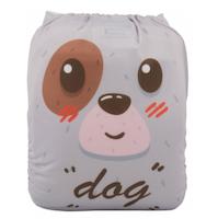 Pocketblöja med inlägg - Dog