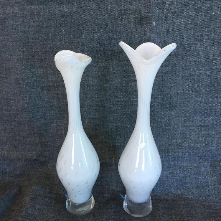 Vita vaser SÅLDA