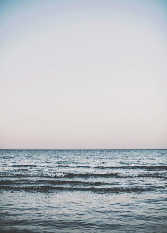 OCEAN PASTEL POSTER