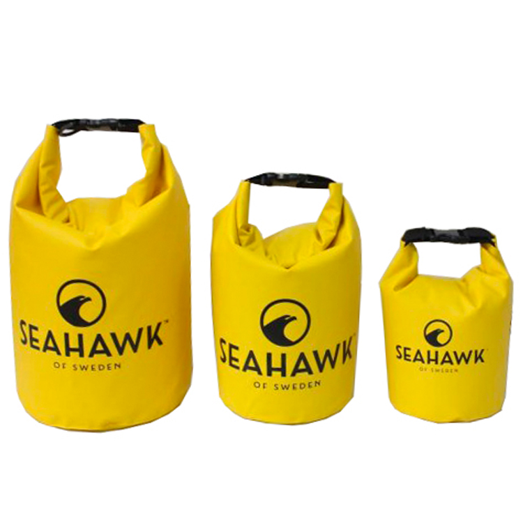 Drybags - Gul - SeaHawk- 3-pack - 5-10-20 liter