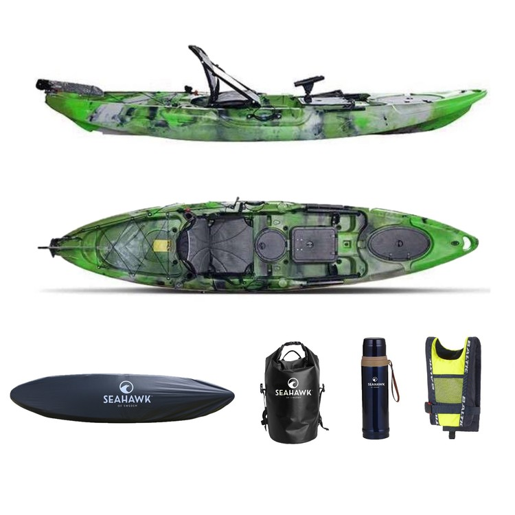 Seahawk Fisher - Fiskekajak Paket