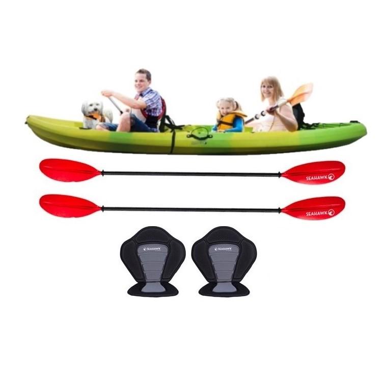 Familjekajak - Sit on top - OUTLET
