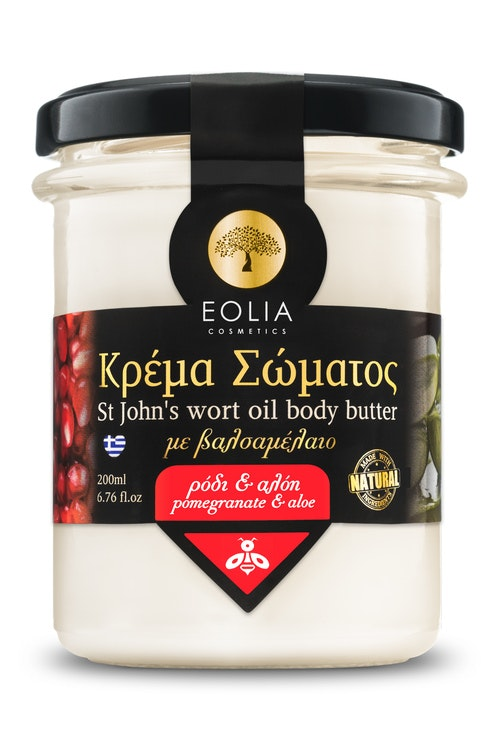 EOLIA, BODY BUTTER - POMEGRANATE & ALOE