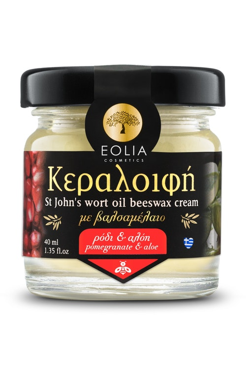 EOLIA, BEESWAX CREAM - POMEGRANATE & ALOE VERA