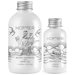 Hommer Divine Beard Set (Shampoo & Oil)
