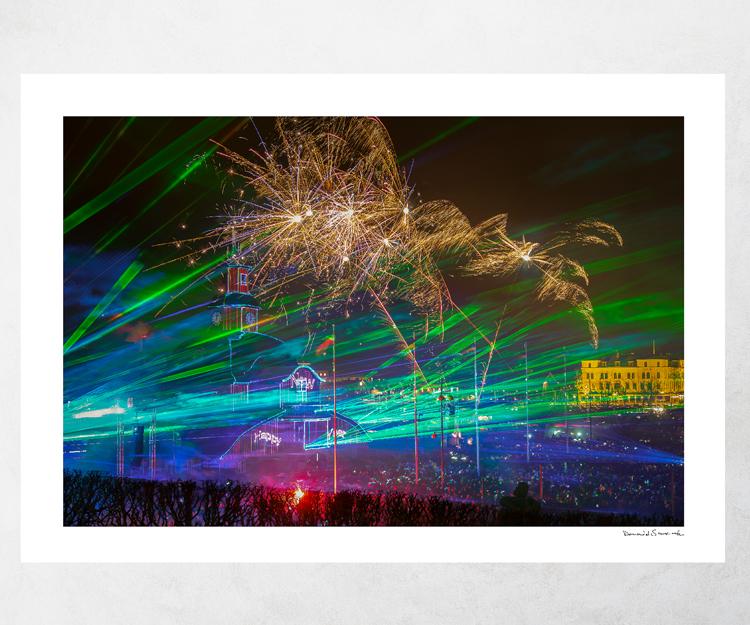 Lasershow Lidköping 2018