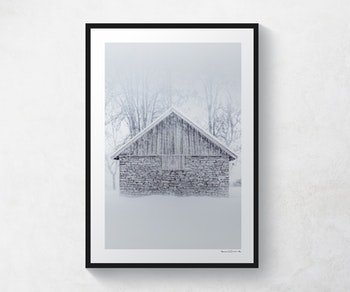 Snö Kinnekulle