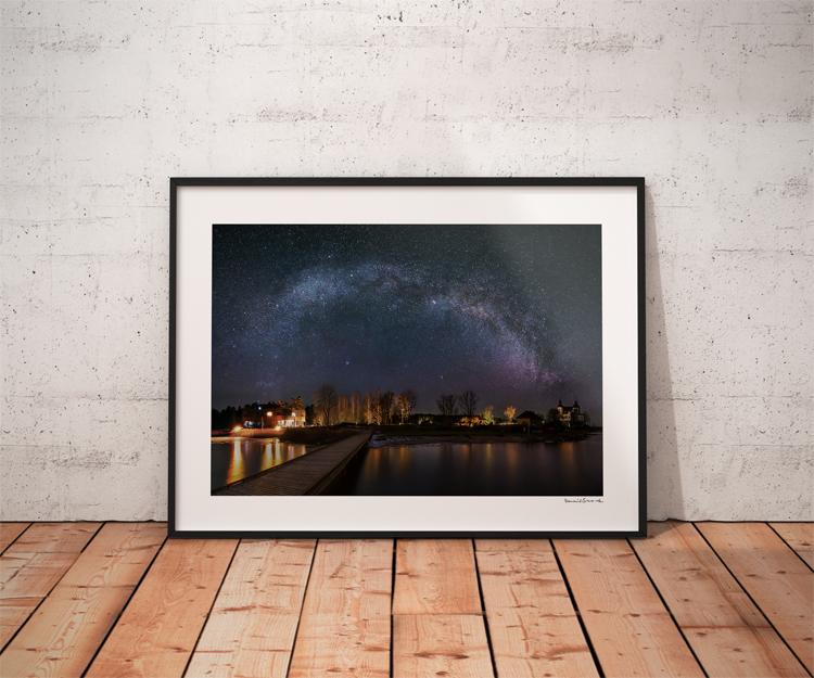 Vintergatan Läckö slott