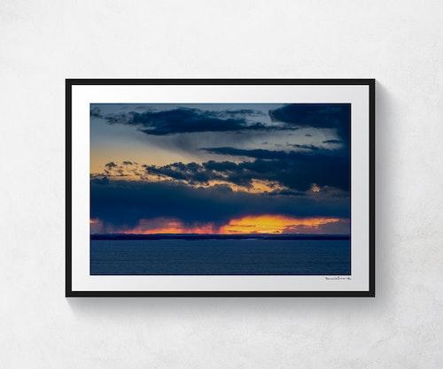 Solnedgång över Kållandsö