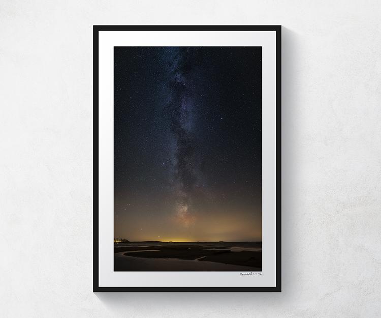 Vintergatan över Svalnäs