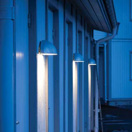 Norlys Paris 1496 Utelampa Vägg LED Galvaniserad stål