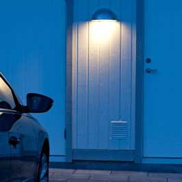 Norlys Paris 1496 Utelampa Vägg LED Vit