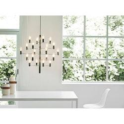 Herstal Manola 20 Dimbar LED Ljuskrona Grafit