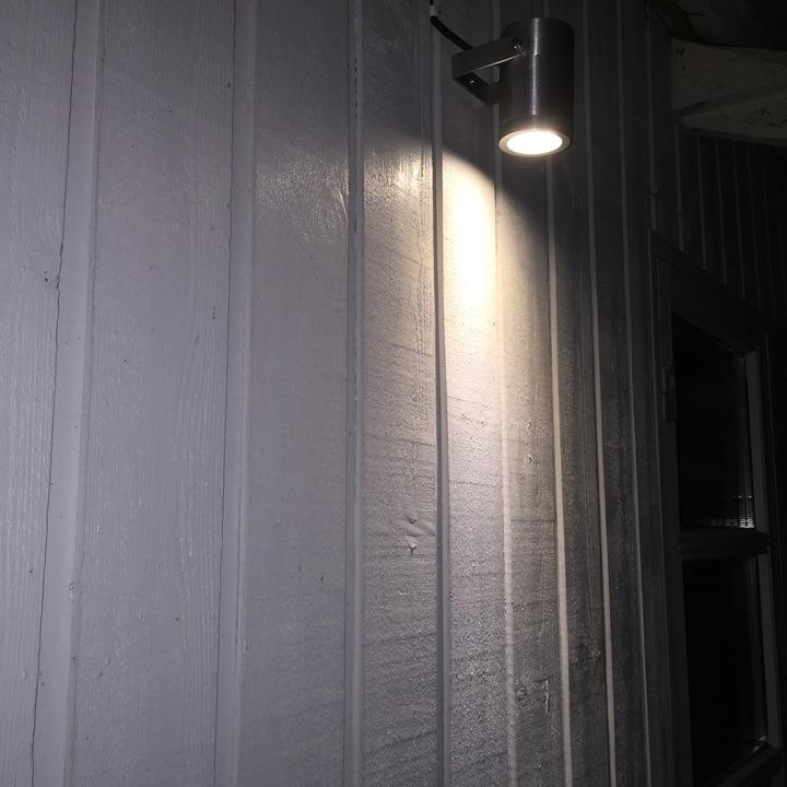 LightsOn Luna Trädgårdslampa LED Svart