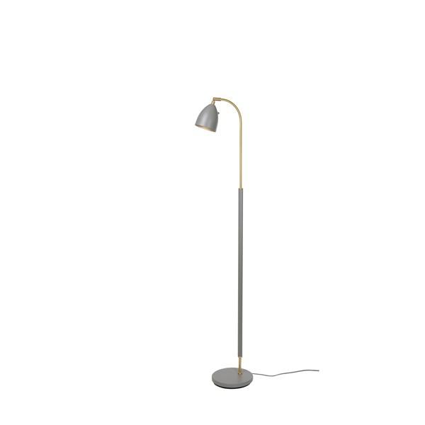 Belid Deluxe G3111 Golvlampa LED Varmgrå/mässing