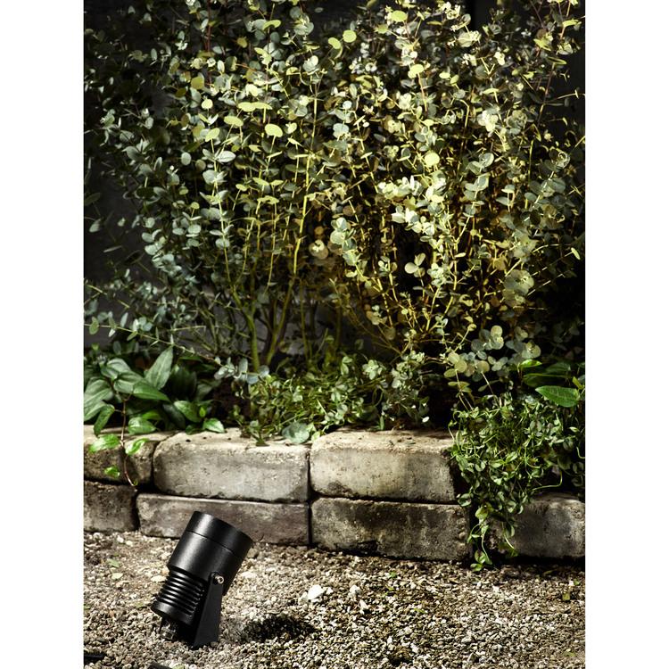 Markslöjd Garden 24 Spot 15W Svart
