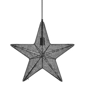 PR Home Orion Hanging Star Svart 44 cm