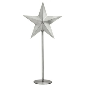 PR Home Nordic Star On Base Silver Höjd 63cm