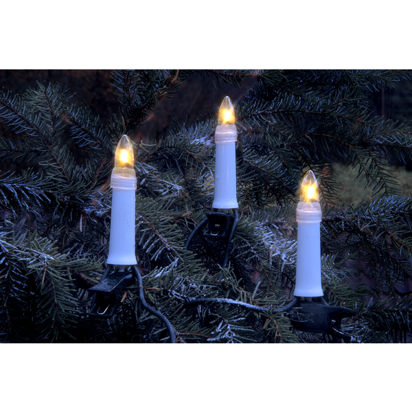 StarTrading Julgransbelysning Utomhus LED 25 ST