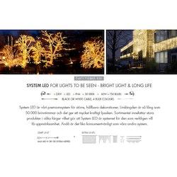 Ljusslang 6m Extra System LED 465-89