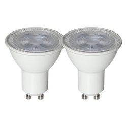 LED-Lampa GU10 Basic 2-Pack 360lm 348-73