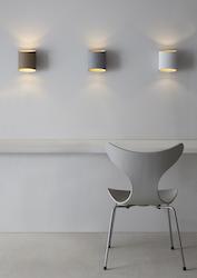 Belid Sinne Vägglampa LED Vitstruktur/mässing