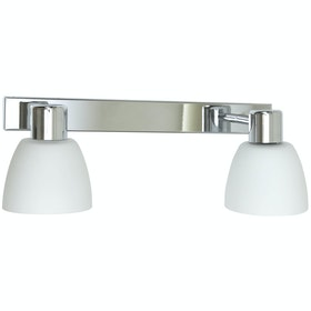 Belid Bizzo V5296 Vägglampa Krom / Opal Glas