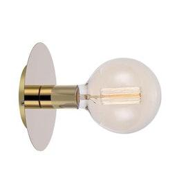 Markslöjd Disc Vägglampa Mässing
