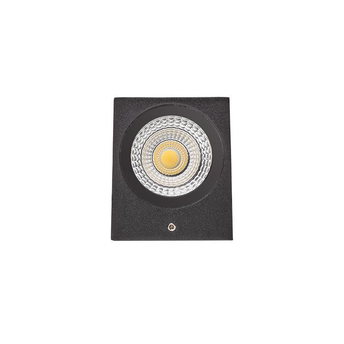 Rendl Kubi II Utelampa Vägg LED Antracitgrå
