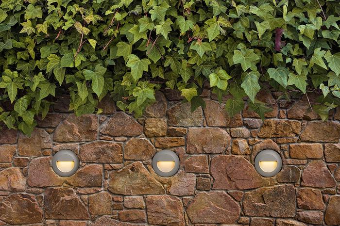 Rendl Marco infälld Silvergrå Utelampa LED