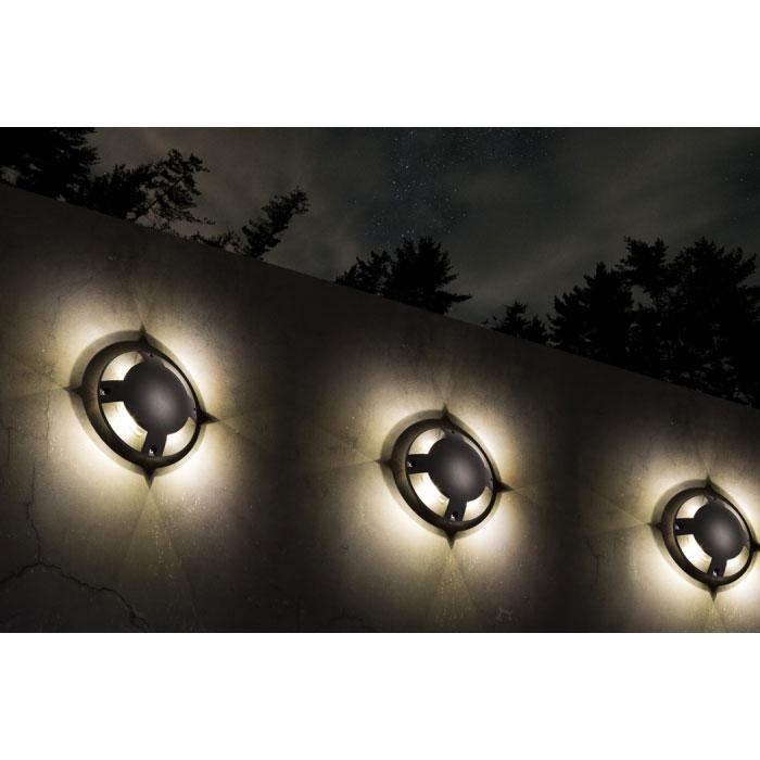 Rendl Toptop Utelampa Vägg/Mark LED Antrasitgrå