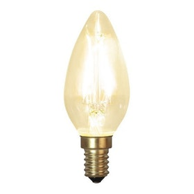 LED-Lampa E14 C35 Soft Glow 353-01