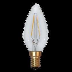 LED-Lampa E14 C35 Soft Glow 120lm 353-01