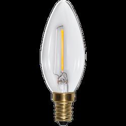 LED-Lampa E14 C35 Soft Glow 70lm 353-03