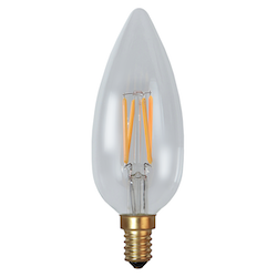 LED-Lampa E14 C45 Soft Glow Dimmable 260lm 338-81
