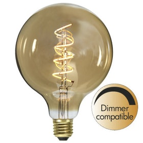 LED-Lampa E27 G125 Flexifilament 354-42