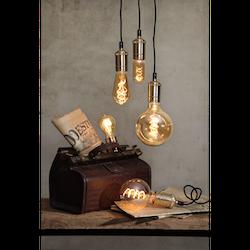 LED-Lampa E27 G125 Flexifilament 140lm 354-42-1