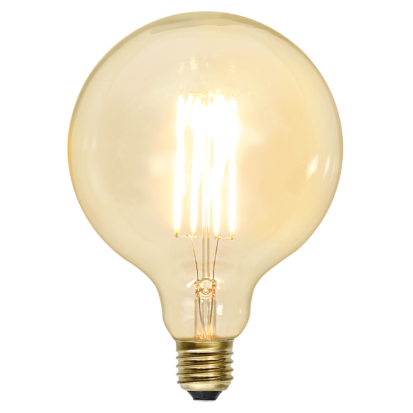 LED-Lampa E27 G125 Soft Glow Dimmable 352-54