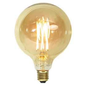 LED-Lampa E27 G125 Vintage GOLD 354-52
