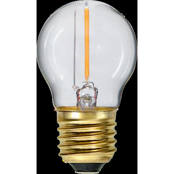 LED-Lampa E27 G45 Soft Glow 353-14