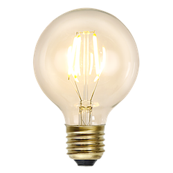 LED-Lampa E27 G80 Soft Glow Dimmable 140lm 352-50