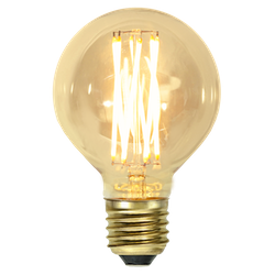 LED-Lampa E27 G80 Vintage Gold 240lm 354-50
