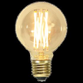 LED-Lampa E27 G80 Vintage GOLD 354-50
