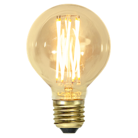 LED-Lampa E27 G80 Vintage GOLD 354-50