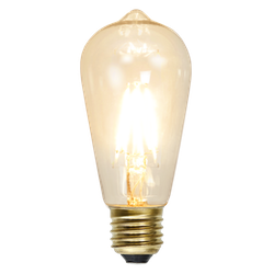LED-Lampa E27 ST58 Soft Glow Dimmable 140lm 352-74