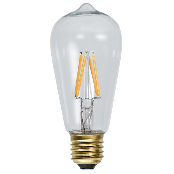 LED-Lampa E27 ST58 Soft Glow Dimmable 352-74