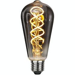 LED-Lampa E27 ST64 Flexifilament 80lm 354-63