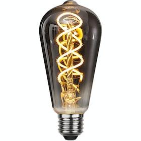 LED-Lampa E27 ST64 Flexifilament 354-63
